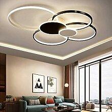 Plafonnier LED Dimmable Lustre Lampe Moderne Salon