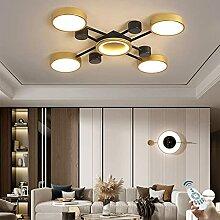 Plafonnier LED Dimmable Salon Lampe Anneau