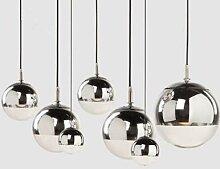 Plafonnier LED en forme de boule de verre, Design