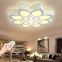 Plafonnier LED En Forme De Fleur Plafond Ultra-Fin