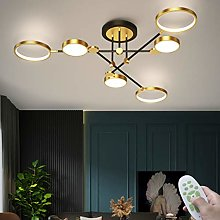 Plafonnier LED Golden Circle Plafond Lampe