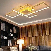 Plafonnier LED Grand Salon Lampe Dimmable Avec