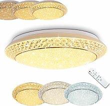 Plafonnier LED Litto en métal blanc - Luminaire