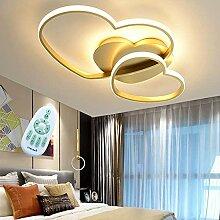 Plafonnier LED Moderne Amour Coeur Design