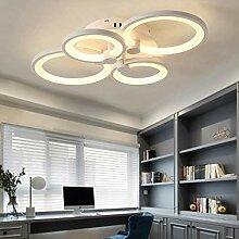 Plafonnier LED Moderne Anneau Cercle Lampe De