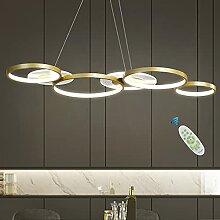 Plafonnier LED Moderne Dimmable Avec