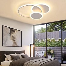 Plafonnier LED Moderne Dimmable Salon Lampe Anneau