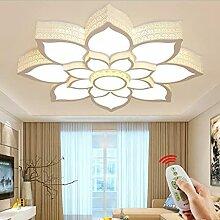 Plafonnier LED moderne en forme de fleur