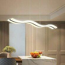 Plafonnier LED moderne en forme de vagues - 36 W -