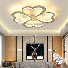 Plafonnier LED Moderne Forme De Fleur Créative