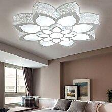 Plafonnier LED Moderne Lampe De Plafond Pétale