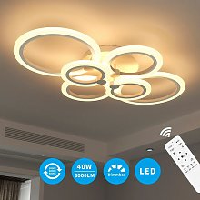 Plafonnier LED Rond Dimmable 40W LED Avec