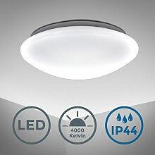 Plafonnier LED salle de bain rond éclairage salle