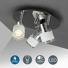 Plafonnier LED salle de bain spots plafond design