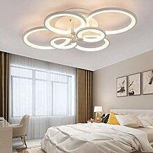 Plafonnier LED Salon Lampe De Plafond Dimmable