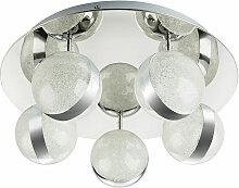 Plafonnier LED TOBIAS rond, spot - boule avec