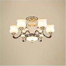 Plafonnier Lustre Luge de salon Lampe Crystal