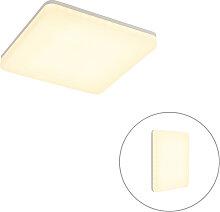 Plafonnier moderne carré avec LED - Plater