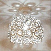 Plafonnier Moderne Industriel Luminaire en Métal,