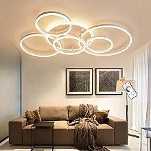 Plafonnier Moderne LED Anneau Plafonnier Dimmable