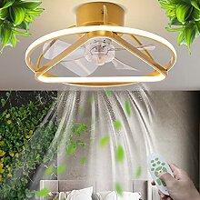 Plafonnier Moderne Ventilateur LED Ventilateur De