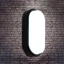 Plafonnier ovale, design moderne mur LED