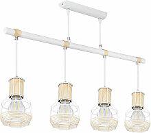Plafonnier pendule suspension lampe design rétro
