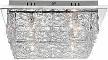 Plafonnier salon salle à manger éclairage tresse