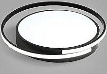 Plafonnier Simple Et Moderne ÉclairéÉclairage