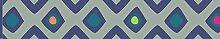 Plage 194005 déco, Textile adhésif, Bleu, 300x5