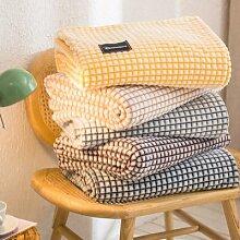 Plaid de flanelle pour lits, couvertures