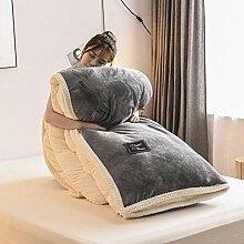 Plaid Polaire Tout Doux Dessus de lit,Couverture