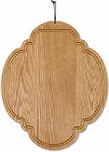 Planche à découper Chêne / Ovale - 26 x 32 cm -