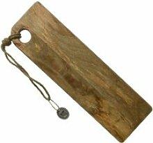Planche à découper en bois rectangle 58 x 18 cm