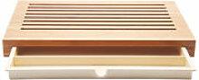 Planche à pain Sbriciola - Alessi bois naturel en