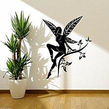 Plante Arbre Ailes Salon Art Déco Papier Peint