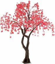 Plante Artificielle arbre En Fleurs 315cm Rose -