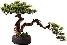 Plante Artificielle Artificielle bonsai arbre