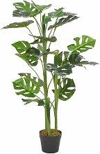 Plante artificielle avec pot Monstera Vert 100 cm