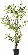 Plante artificielle bambou avec pot H100cm