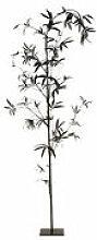 Plante artificielle Bambou / Tissu - Ø 80 x H 270