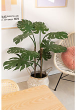 Plante artificielle de Monstera Vert Foncé Sklum