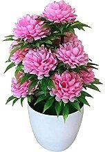 Plante Artificielle en Pot 1 Pc Pratique
