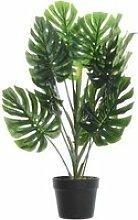 Plante artificielle monstera pot noir PLANTS