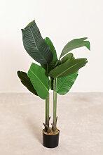 Plante de banane artificielle décorative ↑100