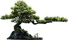 Plantes artificielles Arbre artificiel Bonsai