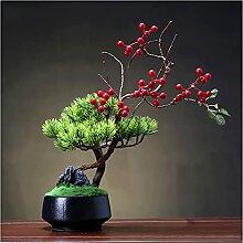 Plantes artificielles Arbre artificiel de bonsaï,