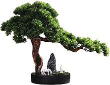 Plantes artificielles Artificielle bonsai arbre