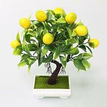Plantes artificielles bonsaï Flone, faux arbre,