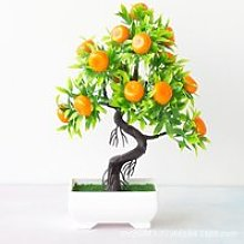 Plantes artificielles bonsaï mandarine, arbre à